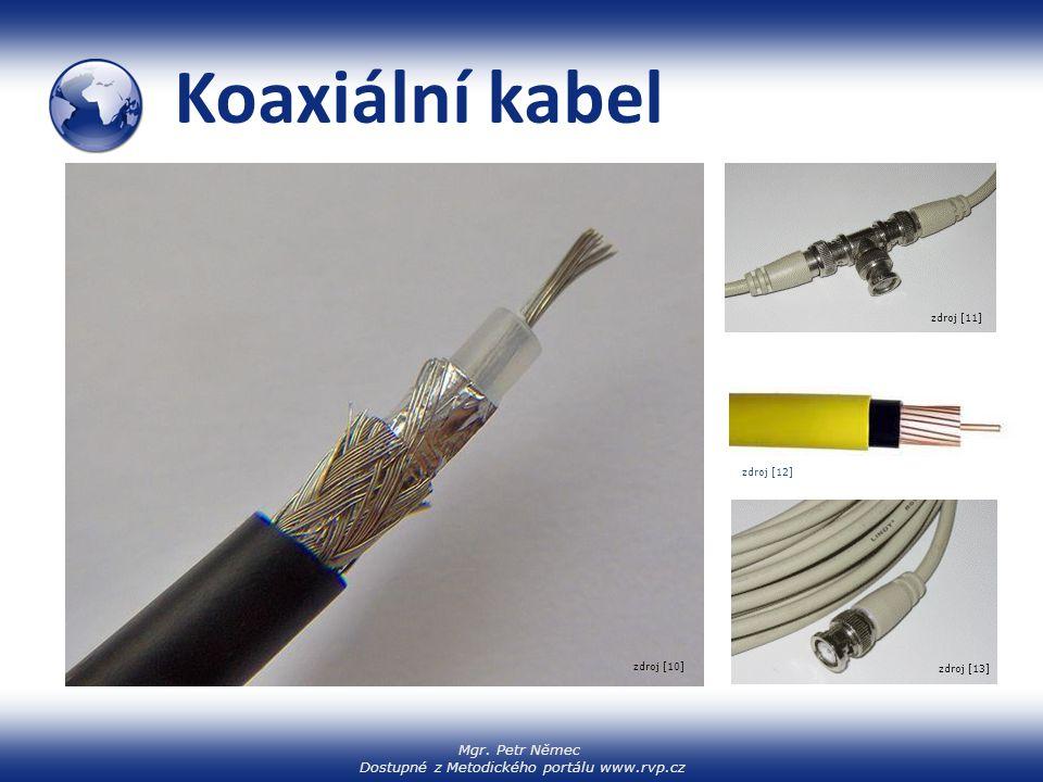 Koaxiální kabel zdroj [11] zdroj [12] zdroj [10] zdroj [13]